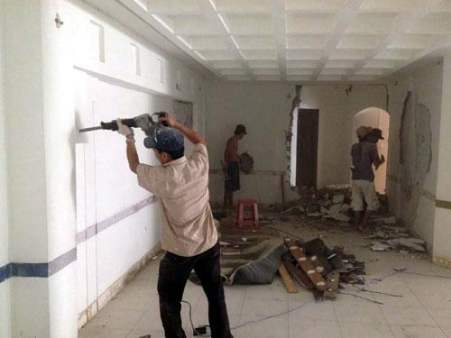 Dịch vụ sửa chữa nhà cửa giá rẻ quận 8, 9 tại Tphcm