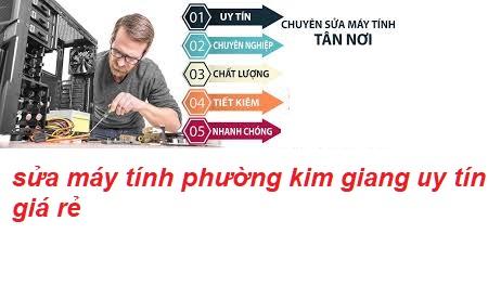 sửa máy tính tại phường kim giang