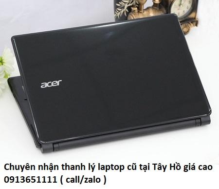 Chuyên nhận thanh lý laptop cũ tại Tây Hồ giá cao